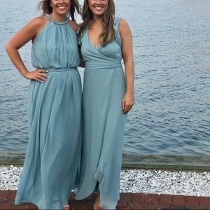 Joanna August Catherine Long Bridesmaid gown